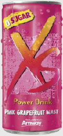 XS™ Power Drink – Pink Grapefruit Blast