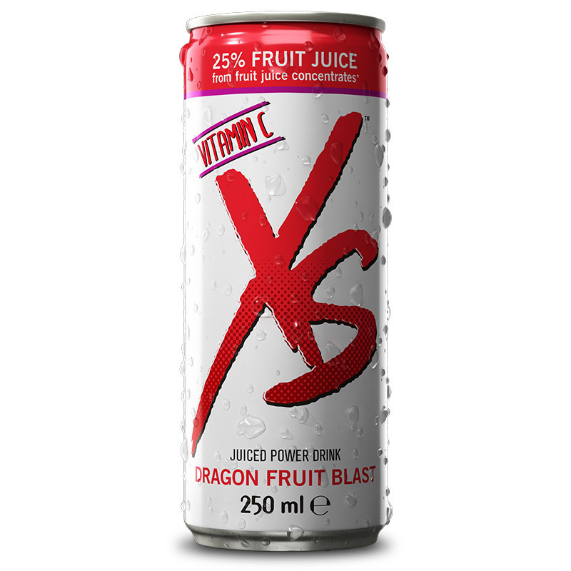 XS™ Juiced Power Drink Dragon Fruit Blast 1 Dose incl.Pfand